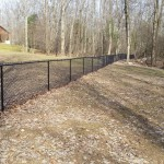 Unadilla - This  4' high by over 1000' long fence provides plenty of running room for two dogs.