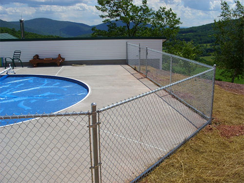 Swimming Pools Oneonta Fence
