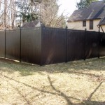 We installed this 8' high Cedar privacy fence in Oneonta in 2008