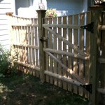 We custom designed this gate and stationary section to create a continuous concave sweep.